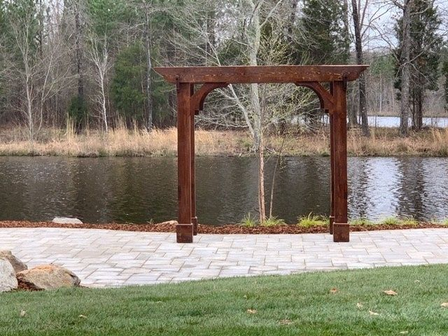 Hand-Crafted Arbor