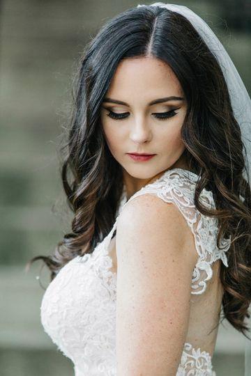 Pretty bride|laura k. Allen photography