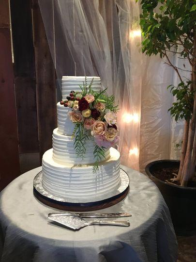 Elegant Cake décor
