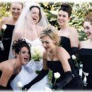 Laughs on the wedding day