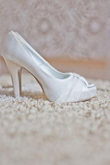 shoes white wedding higheels