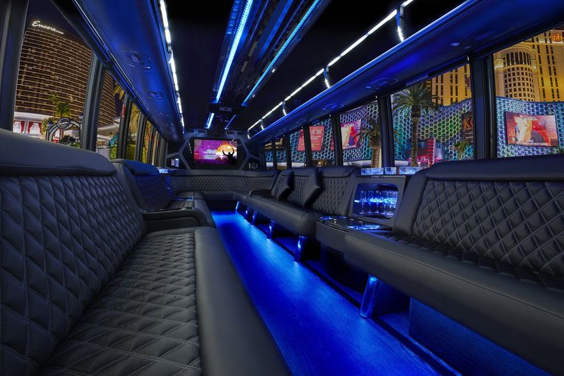 New 28 Passenger Party Bus