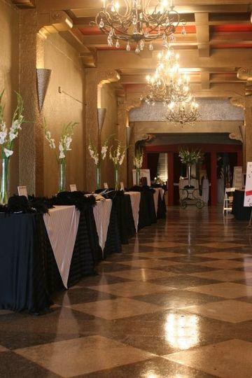 Grand Foyer of The RITZ Ybor