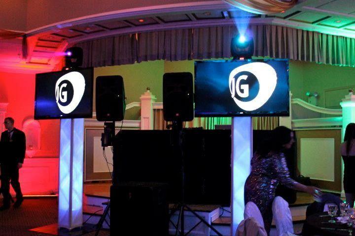 JG Entertainment Company lighting