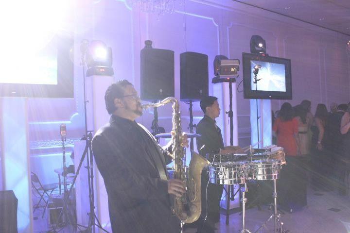 JG Entertainment Company performing