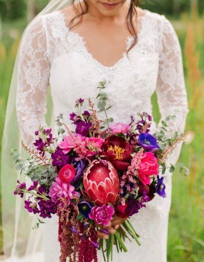 A bright bouquet