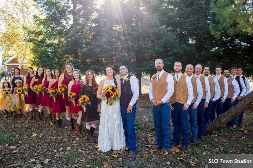 Country weddings are beautiful