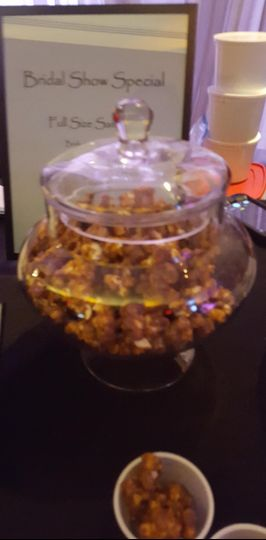 Jar of pretzel bites
