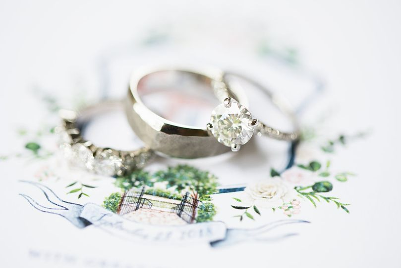 Stationery and Rings