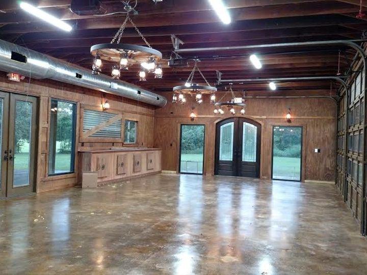 Tmx 1472241431195 Double Bar B Ranch Hall Interior 2 Night Plantersville, Texas wedding venue
