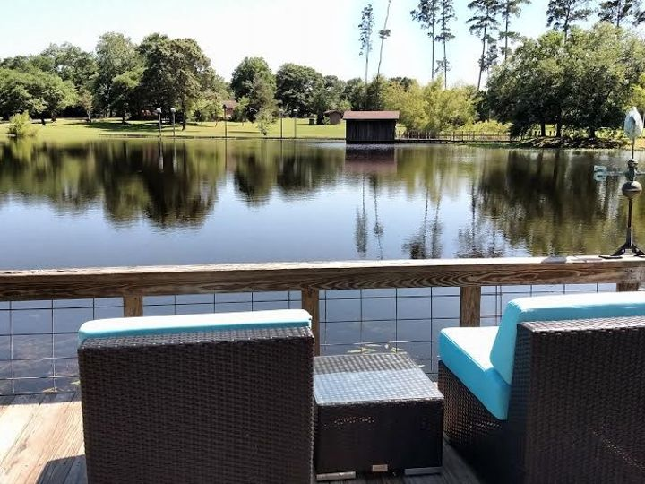 Tmx 1472243204267 Double Bar B Chairs Overlooking Lake May 2016 Plantersville, Texas wedding venue