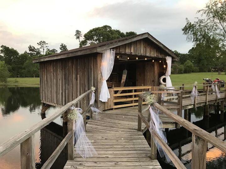 Tmx 1491251430225 Boathouse Curtains Plantersville, Texas wedding venue