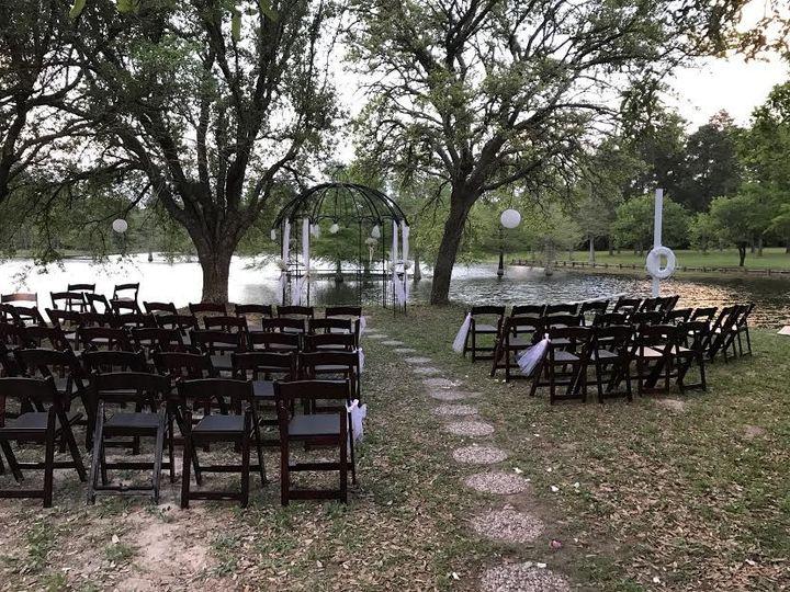 Tmx 1491251477007 Island Chairs And Gazebo Plantersville, Texas wedding venue