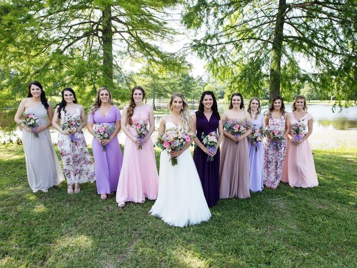 Tmx 1507644116148 Bridesmaids Lake Trees 1 Plantersville, Texas wedding venue