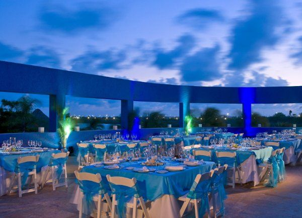 Lagoon terrace event