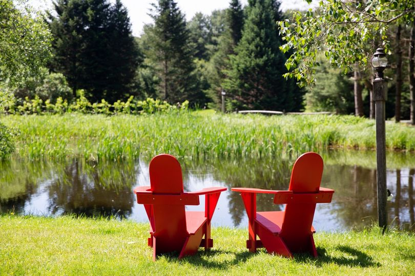 Relax by one of our ponds...