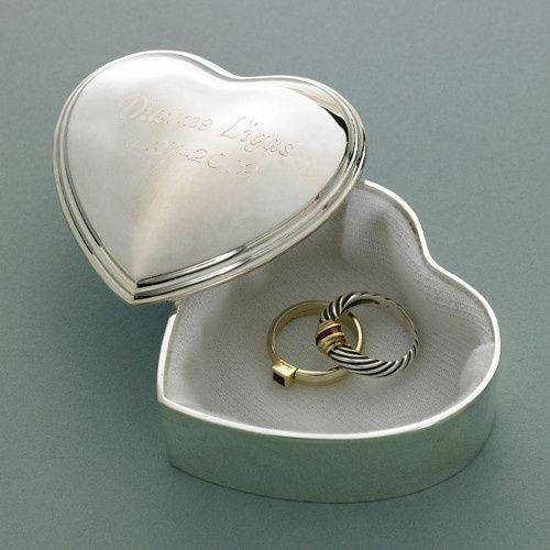 Tmx 1479616722736 Silver Plated Heart Trinket Box Colorado Springs wedding favor