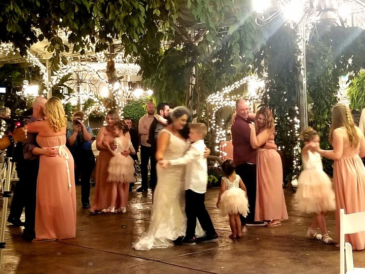 Bride and Son Dance