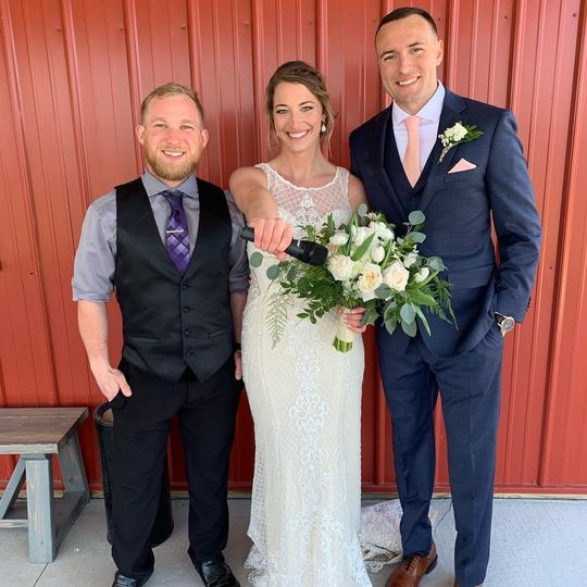 Congrats Mr. & Mrs. Rudolf!