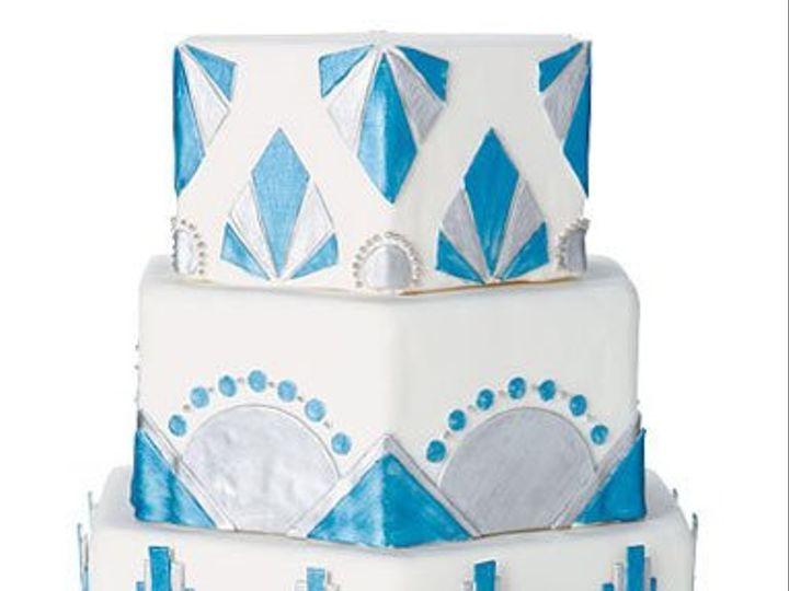 Tmx 1332532689800 Bluedecoweddingcake East Orange wedding cake