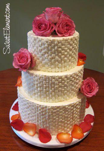 Tmx 1332532692206 Buttercreambasketweaveweddingcake East Orange wedding cake