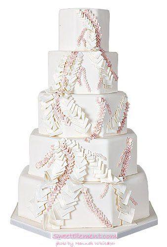 Tmx 1332532692699 Cascadingsquaresweddingcake East Orange wedding cake