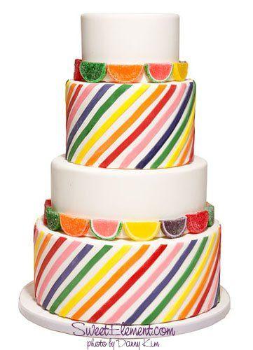 Tmx 1332532696379 Fruitstripeweddingcake East Orange wedding cake