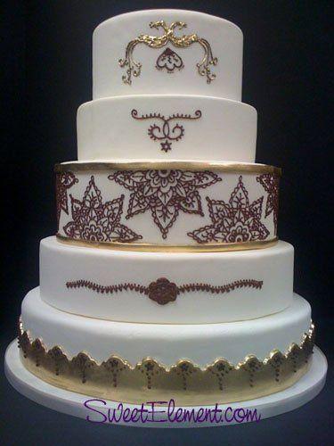 Tmx 1332532697504 Mehndiweddingcake East Orange wedding cake