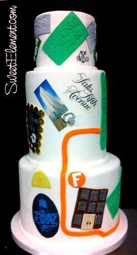 Tmx 1332532702581 Nyccouplesmapweddingcake East Orange wedding cake