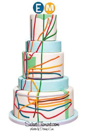 Tmx 1332532702991 NYCSubwayLoveWeddingCake East Orange wedding cake