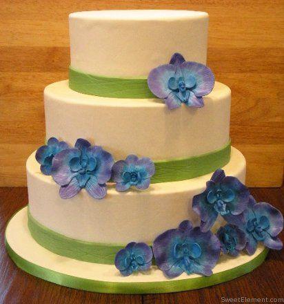Tmx 1332532704021 Orchidweddingcake East Orange wedding cake