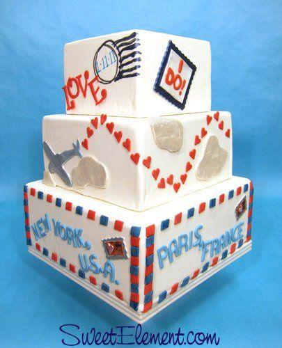 Tmx 1332532704840 ParAvionWeddingCake East Orange wedding cake