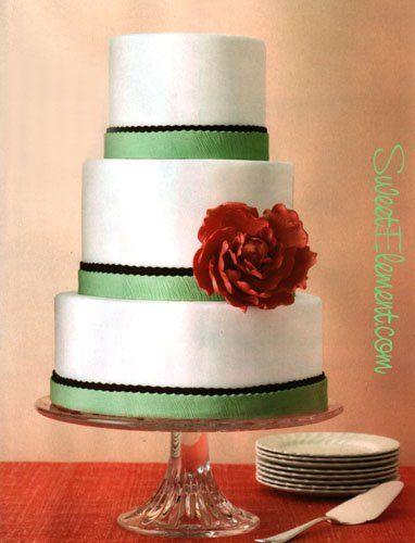 Tmx 1332532705626 Peonyweddingcake East Orange wedding cake