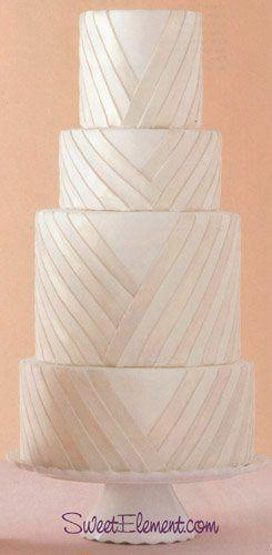 Tmx 1332532706056 Pleatedweddingcake East Orange wedding cake