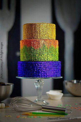 Tmx 1332532707540 Sequinweddingcake East Orange wedding cake