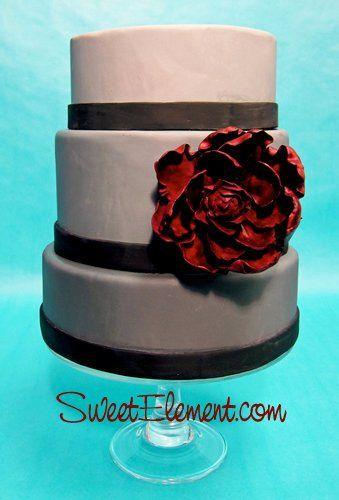 Tmx 1332532707938 ShadesofGreyWeddingCake East Orange wedding cake