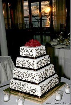 Tmx 1332532709616 Toniweddingcake East Orange wedding cake