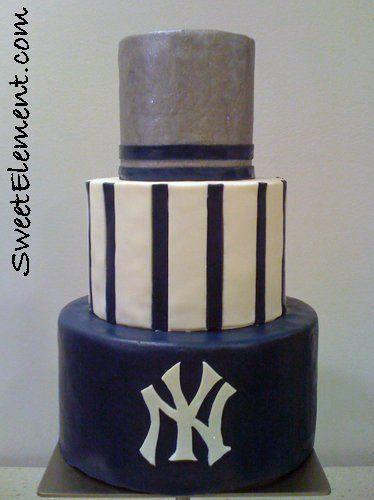 Tmx 1332532710233 Yankeesweddingcake East Orange wedding cake
