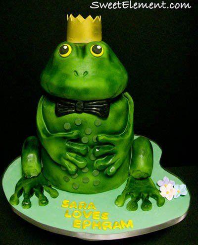 Tmx 1332535544604 Frogprincegroomscake East Orange wedding cake