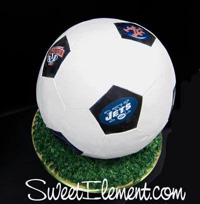 Tmx 1332535546305 Soccerballgroomscake3 East Orange wedding cake