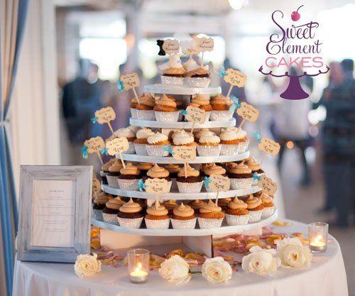 Tmx 1351892718026 Weddingcupcaketower East Orange wedding cake