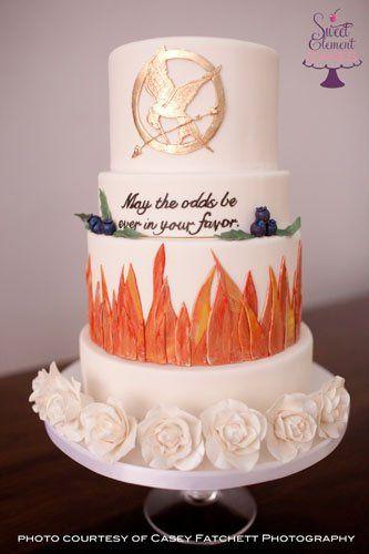 Tmx 1351892730846 Hungergamesweddingcake East Orange wedding cake