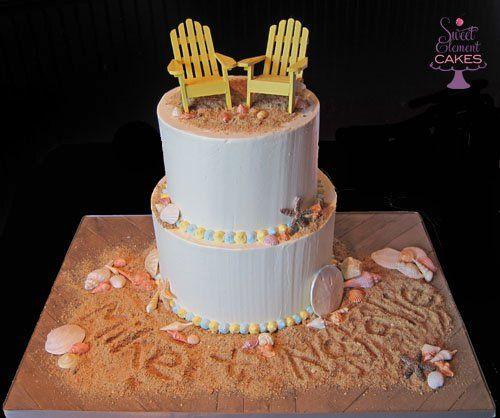Tmx 1351892792893 Beachengagmentcake East Orange wedding cake