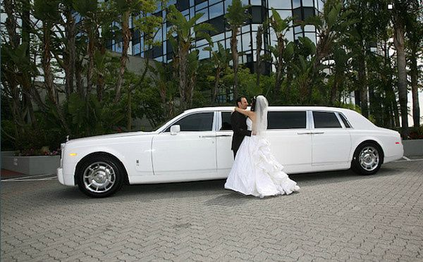 wedding limo in los angeles