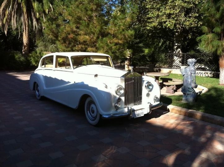 classic rolls royce rental in los angeles