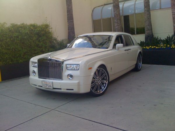 rolls royce phantom rental la