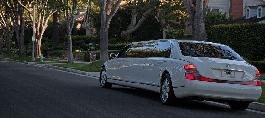 maybach limo in los angeles