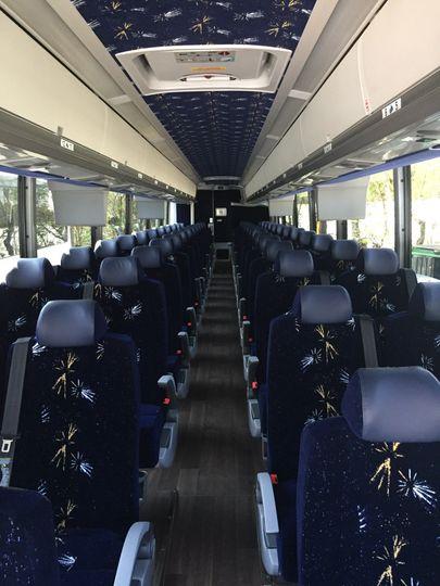 Comfortable bus