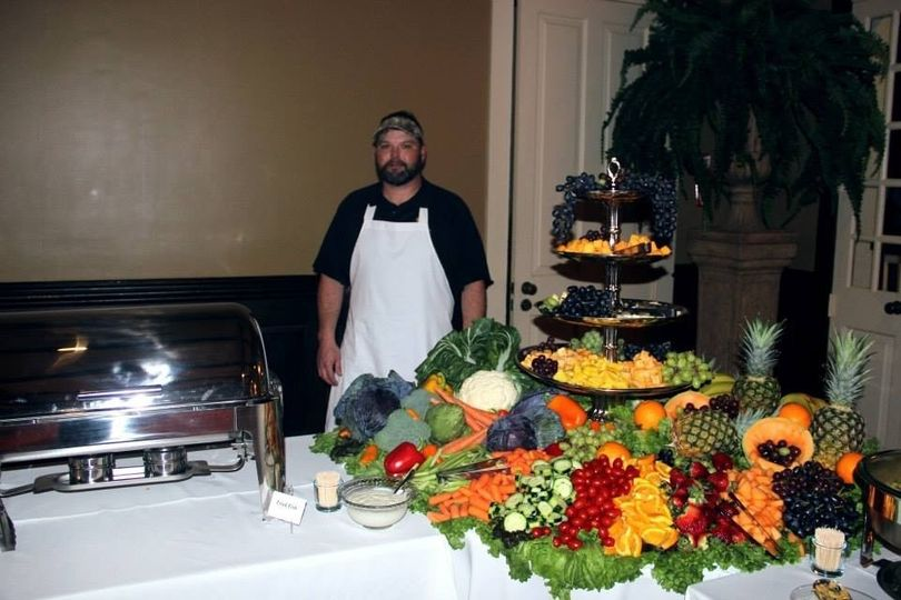 Shown is Ryan Lopez, Owner of Cajun Commander Catering.   We catered this Wedding Reception which...