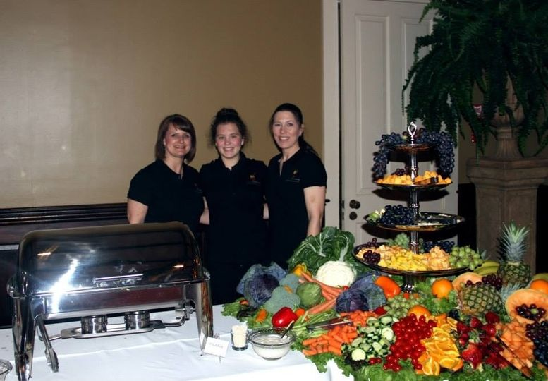 Our staff for Cajun Commander Catering.   We catered this Wedding Reception which was located at Rip...